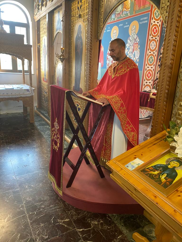 Молитвена прослава храмовне славе у Енсу