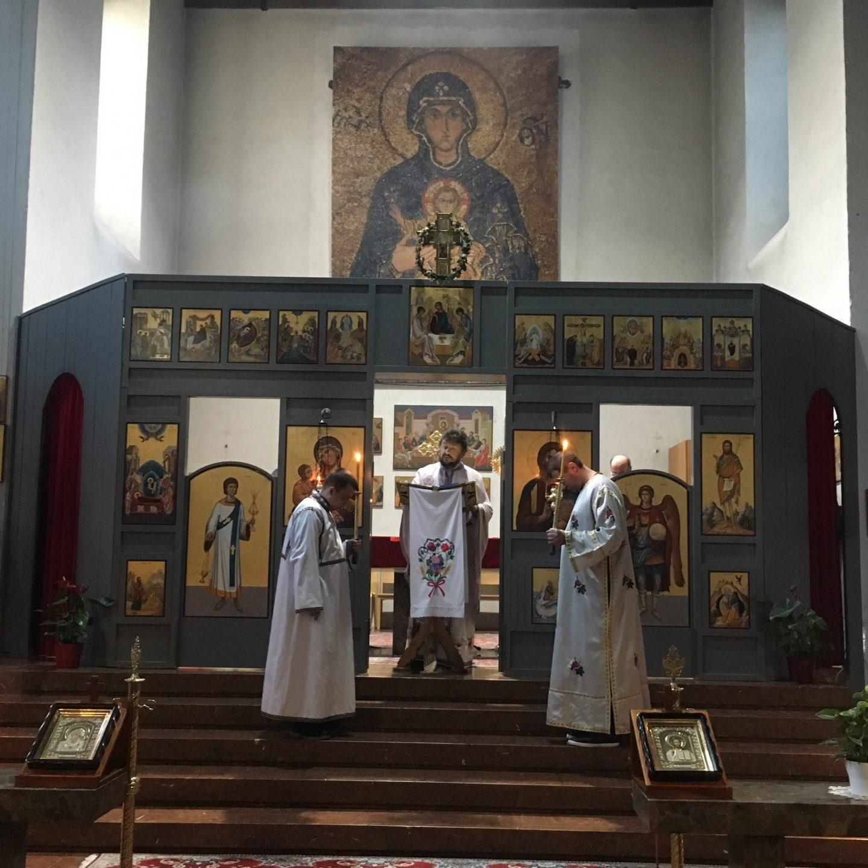 Недеља Oтаца у Богородичином храму у Бечу