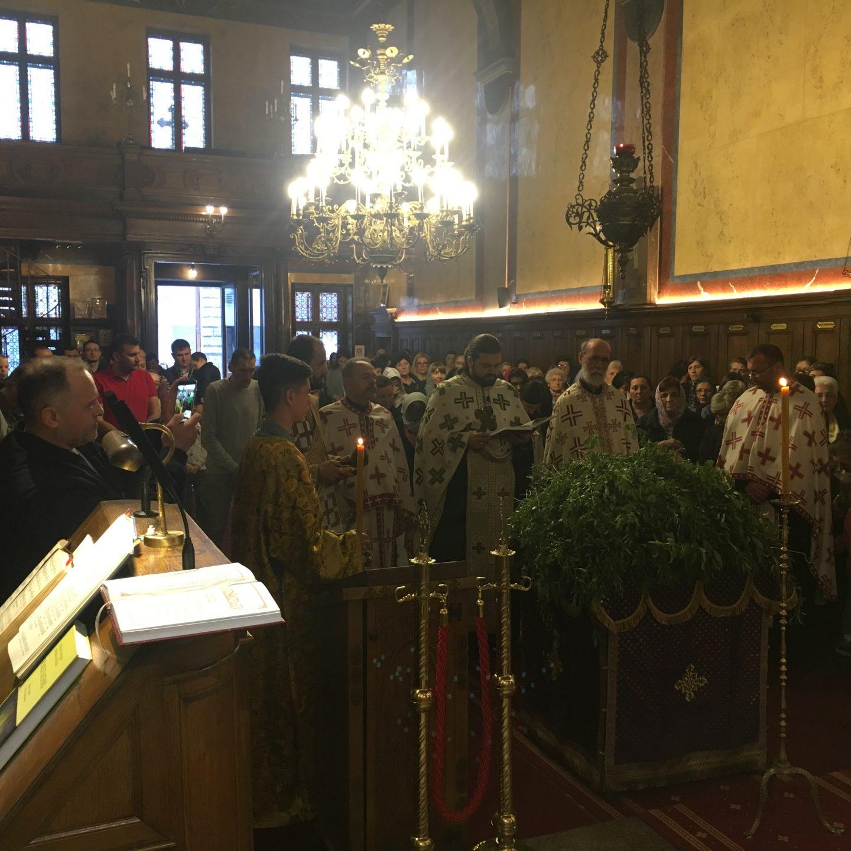 Лазарева субота и Цвети у Саборном храму у Бечу