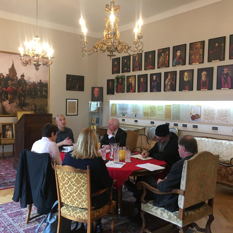 Седница управног одбора Међуцрквеног савета аустријских цркава