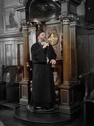 Епископ Андреј у Саборном храму у Бечу