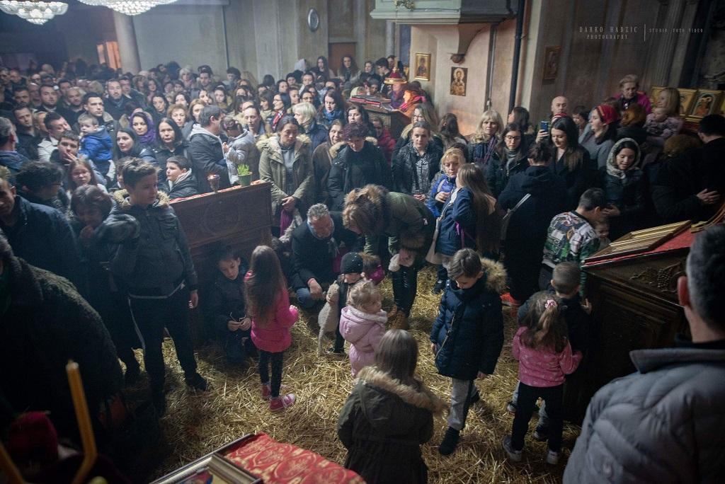 Бадњи дан и Божић у Вићенци