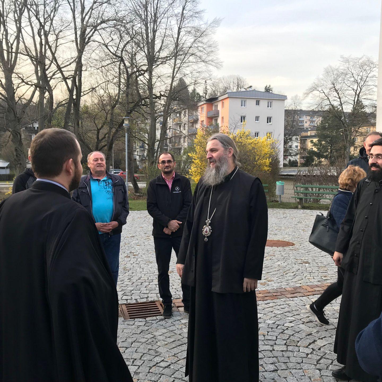 Епископ Андреј у Гмундену