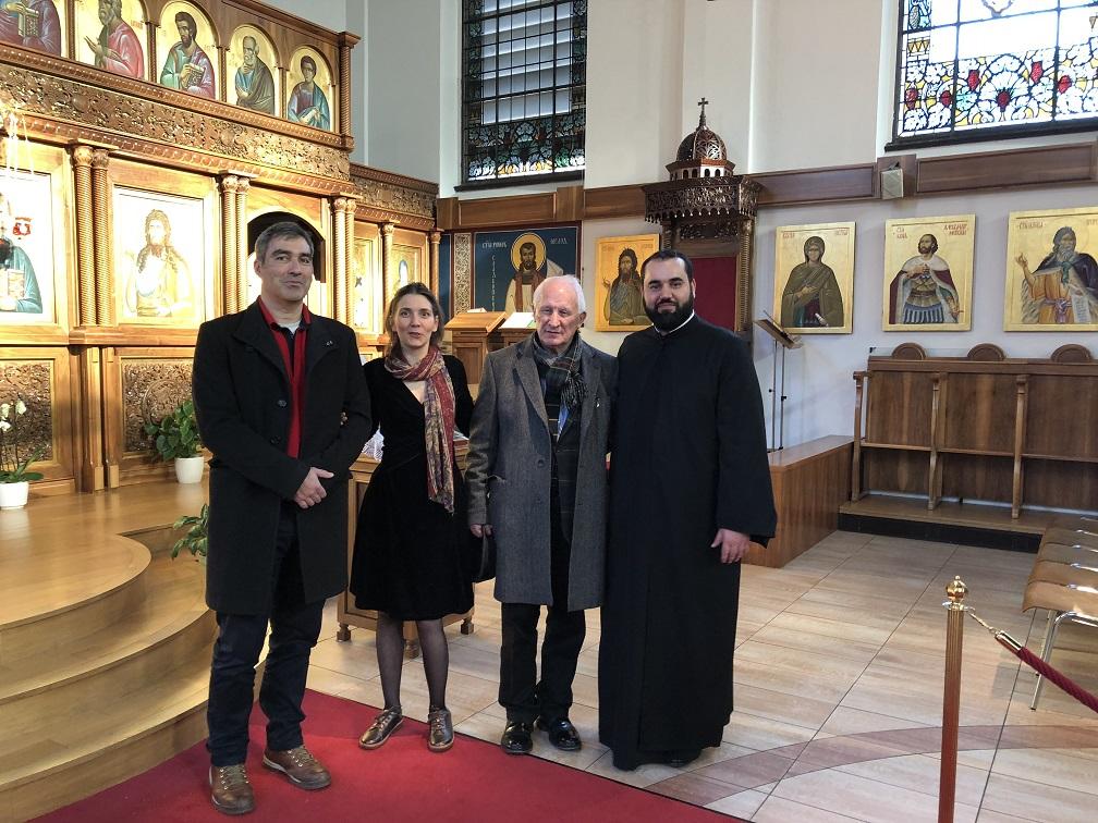 Књижевни сусрет у храму Свете Тројице у Цириху