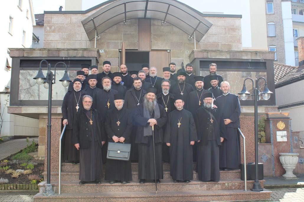Исповест свештенства у Штутгарту