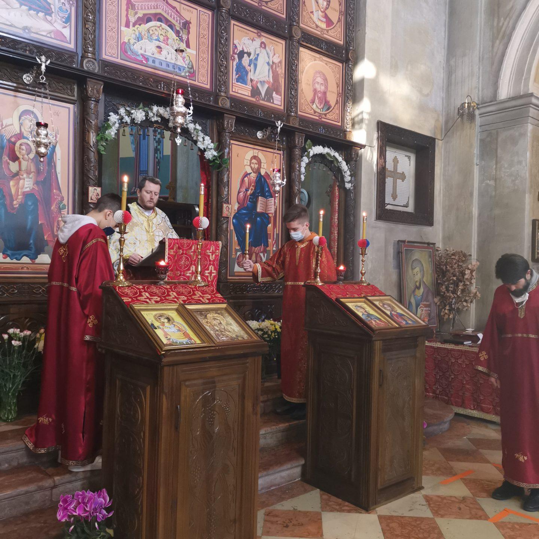 Прослава Светог Саве у Вићенци