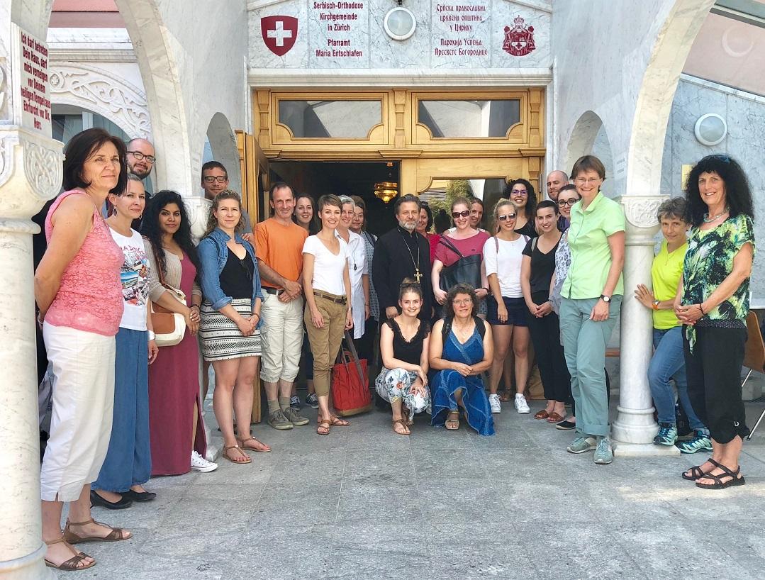 Наставници посетили Светоуспенски храм у Цириху