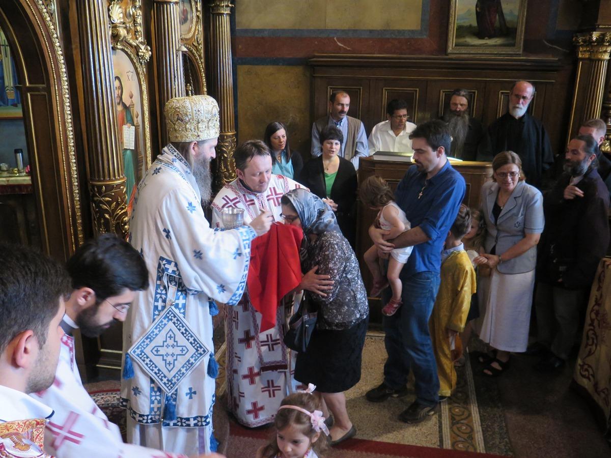 Илиндан у Саборној цркви у Бечу