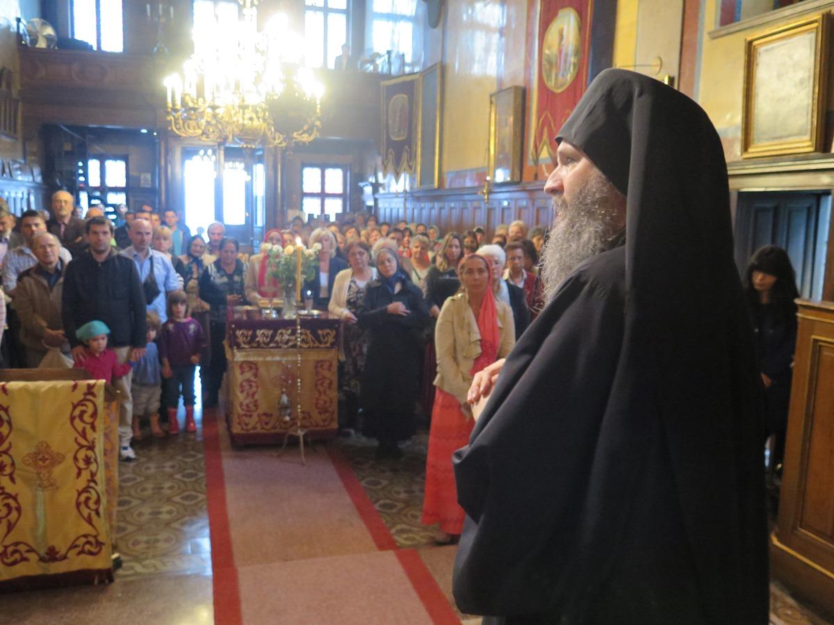 Празник Усековања у Саборној цркви у Бечу