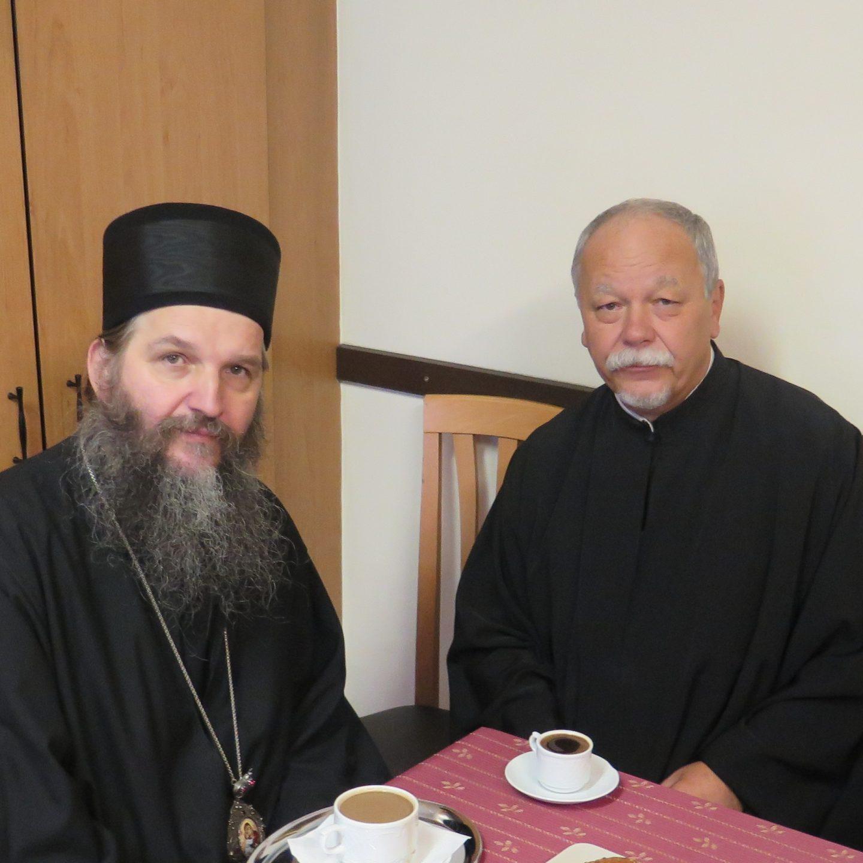 Православни војни свештеник у Војсци Аустрије посетио Владику Андреја