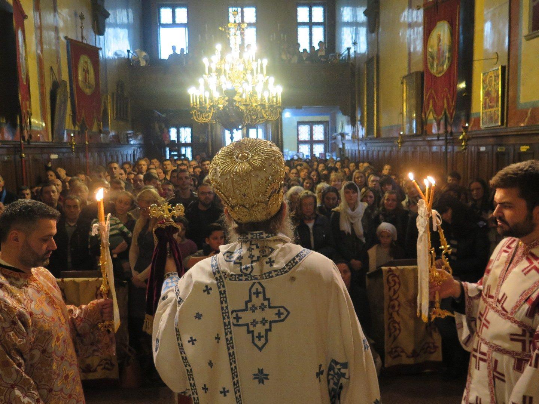 Недеља светих отаца Седмог Васењенског Сабора у Саборној цркви у Бечу