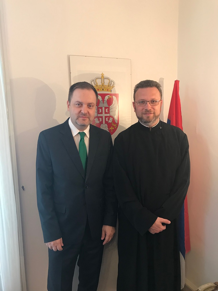 Пријем у мисији Републике Србије при УН