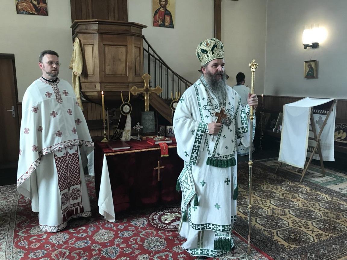 Епископ Андреј у Женеви