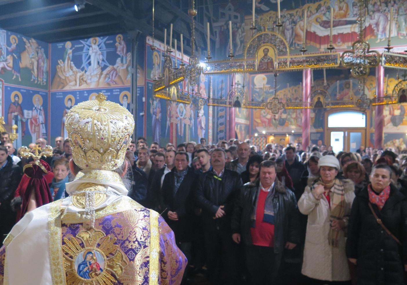 Света архијерејска литургија у Бечу