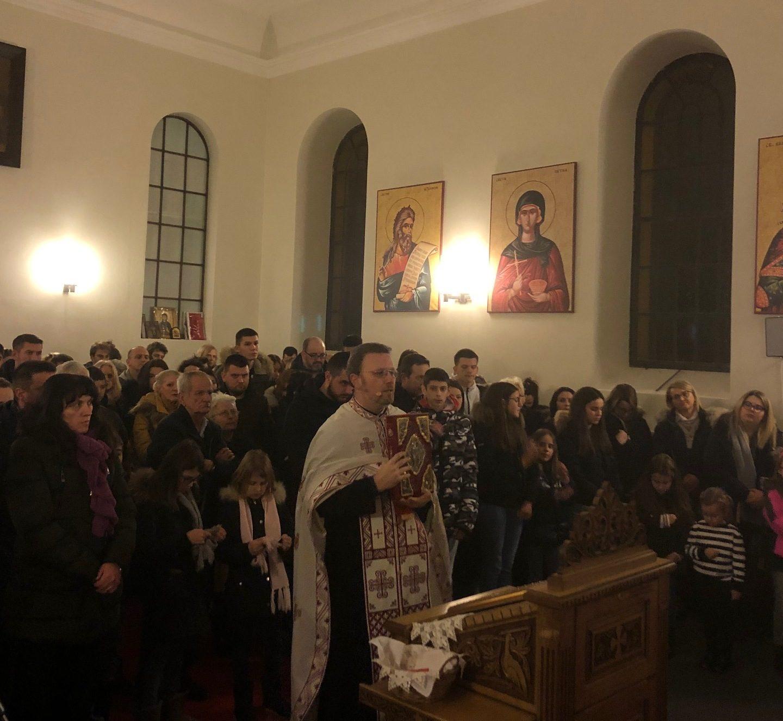 Рођење Богомладенца Христа у Женеви