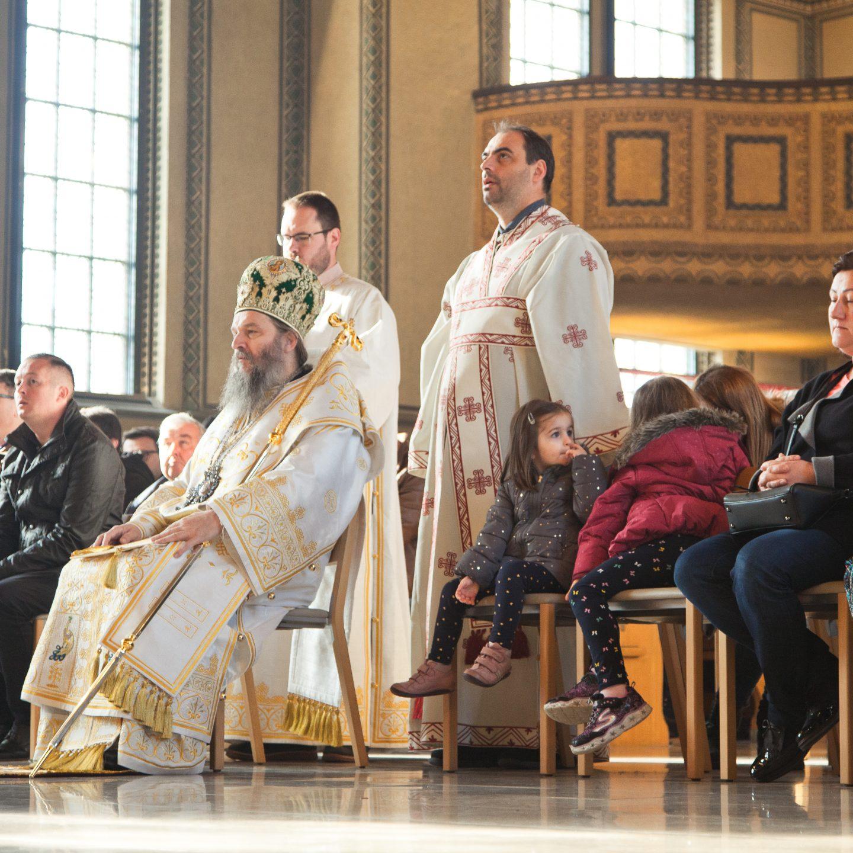 Канонска посета Епископа Андреја санктгаленској парохији