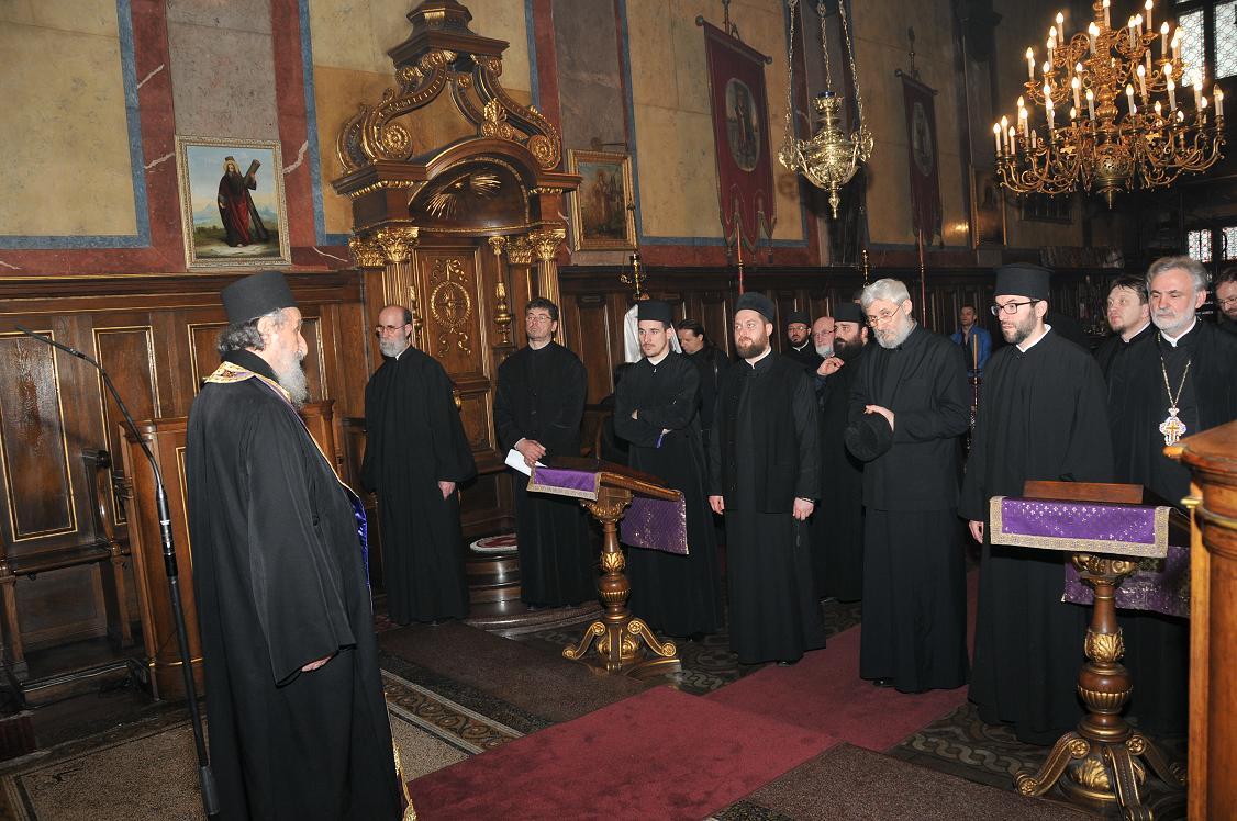 Исповест свештенства архијерејског намесништва за Аустрију