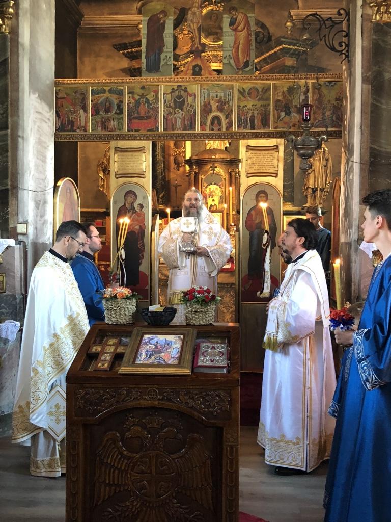 Посета Епископа Андреја Луцерну