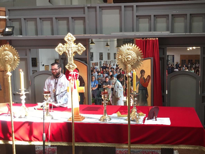Недеља осма по Духовима у Богородичином храму у Бечу