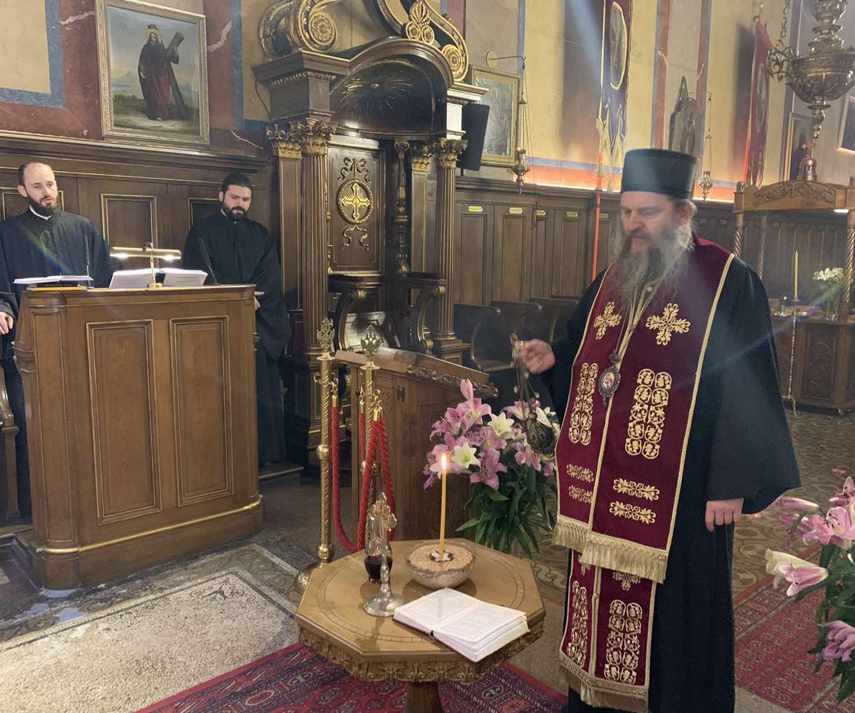 Четрдесетодневни парастос блаженопочившем Патријарху српском Иринеју
