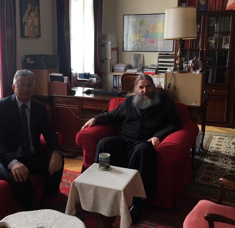 Епископ Андреј примио aмбасадора Републике Србије у Аустрији