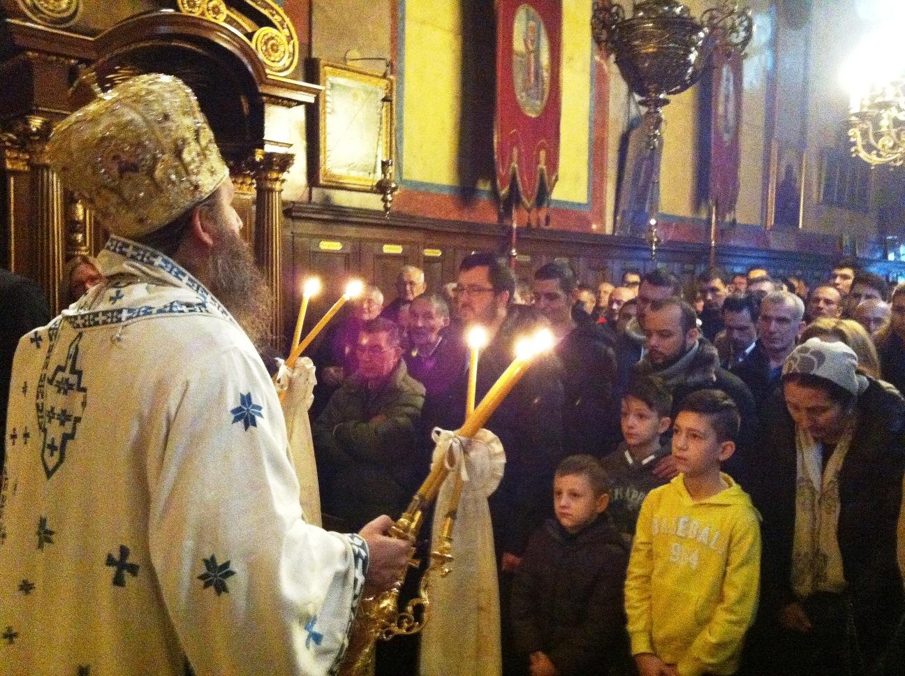 Недеља по Богојављењу у Саборном храму