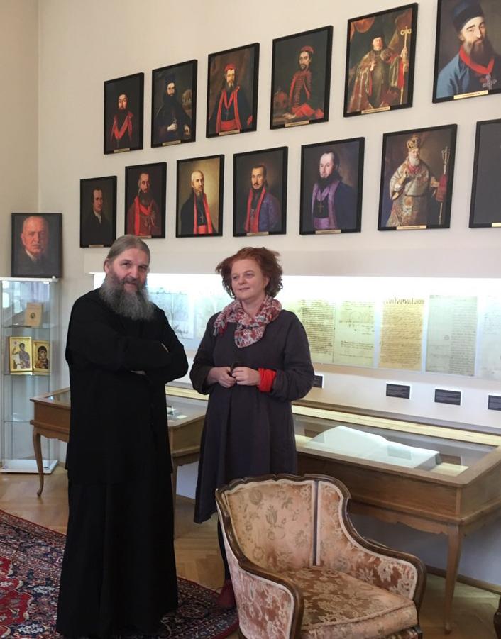 Епископ Андреј примио проф. др Гордану Илић Марковић