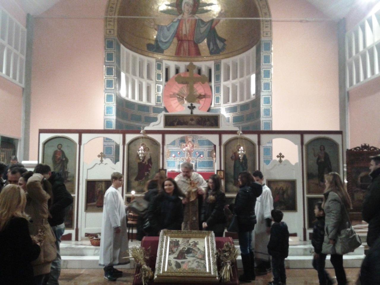 Божић у парохији Миланској