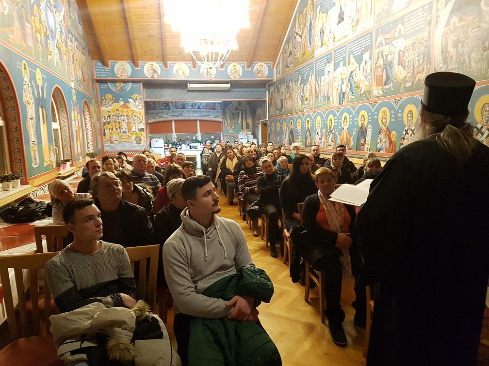 Епископ Андреј одржао предавање у Бечу