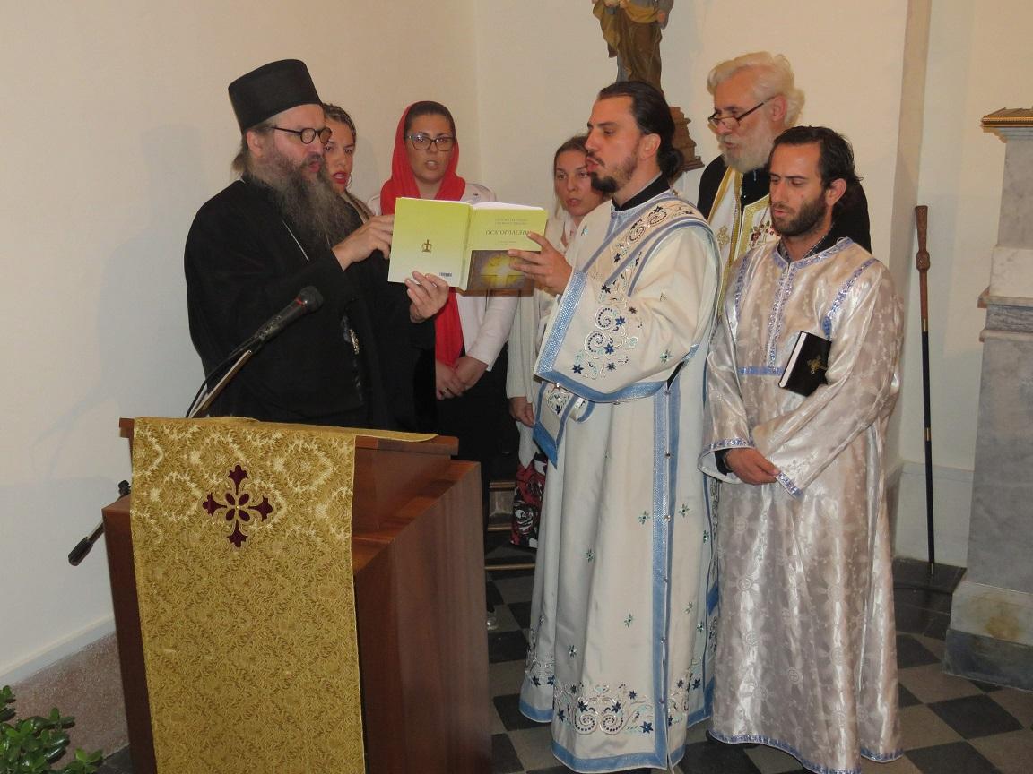 Канонска посета Епископа Андреја Малти