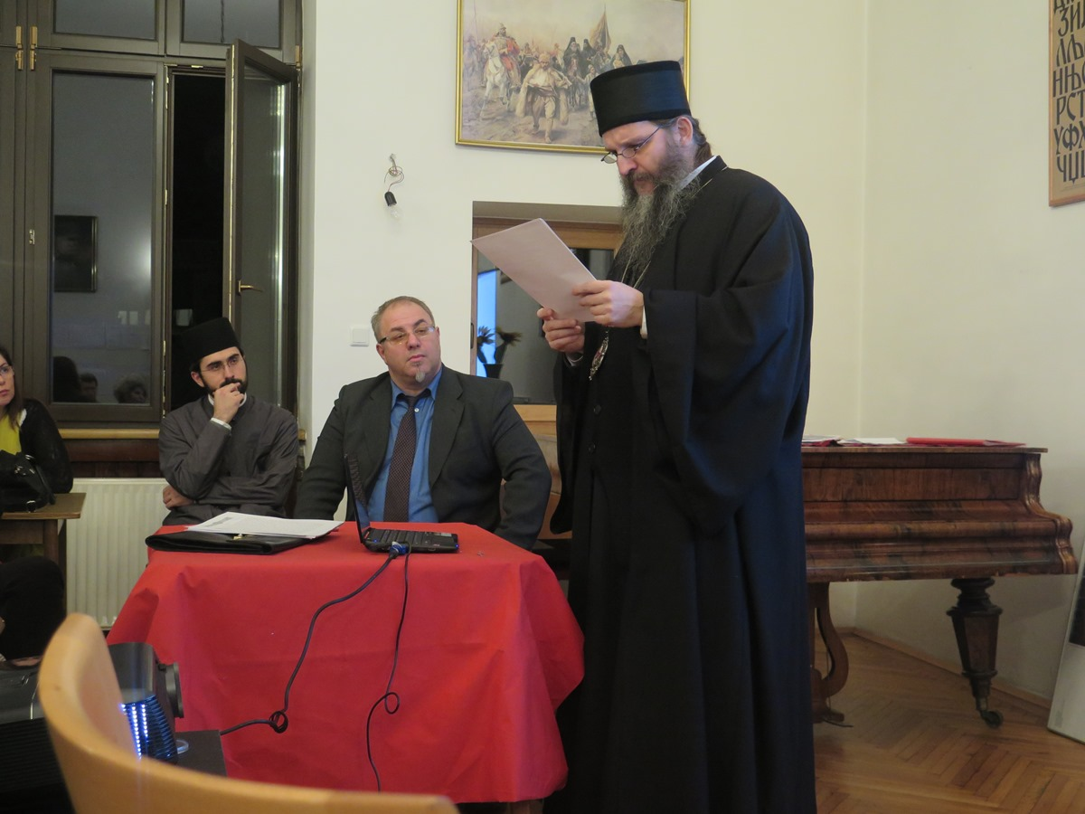 Владика Андреј одржао Предавање у организацији српског друштва Просвјете