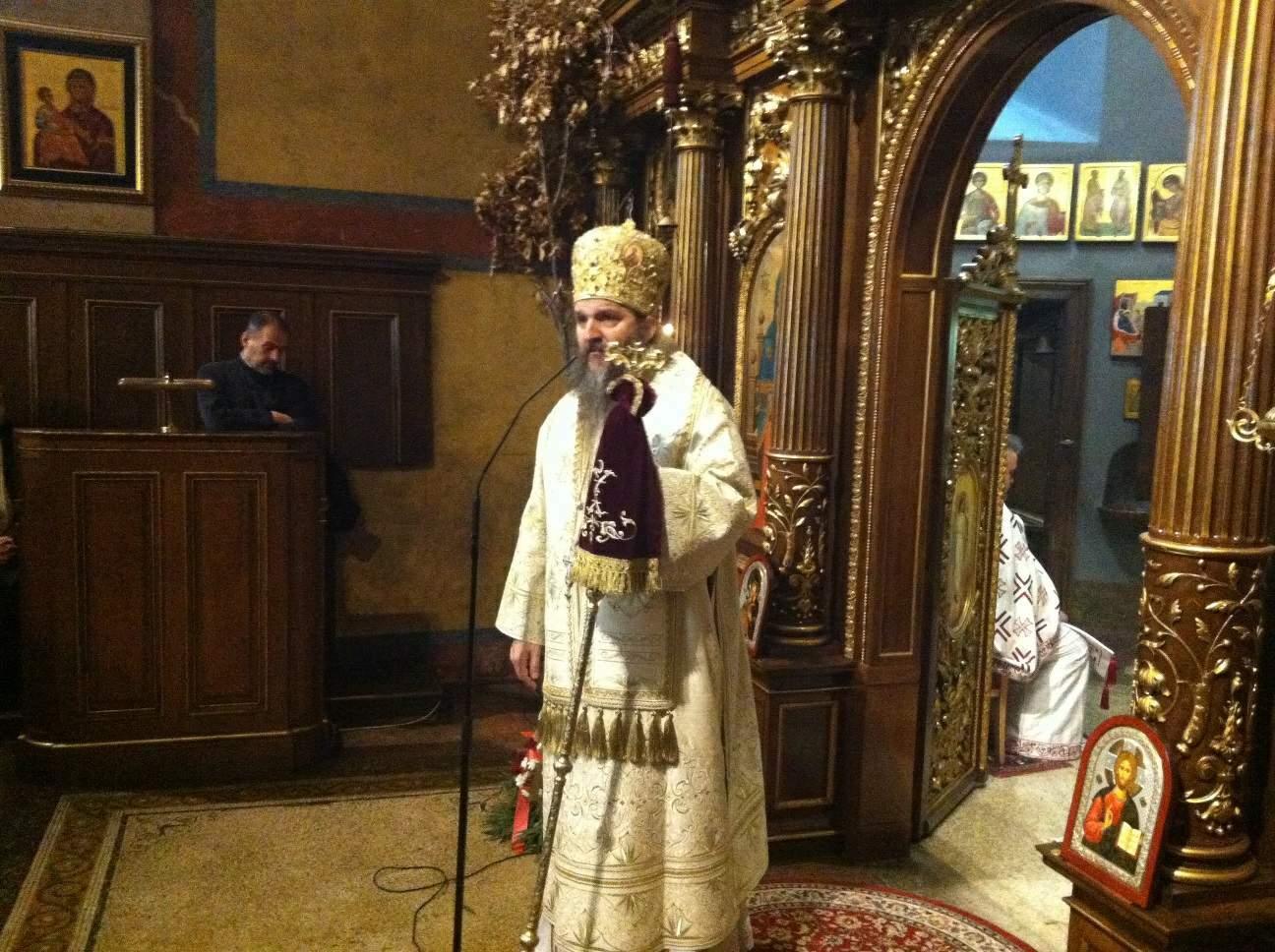 Празник Обрезања Христовог и спомен Светог Василија у Саборној цркви