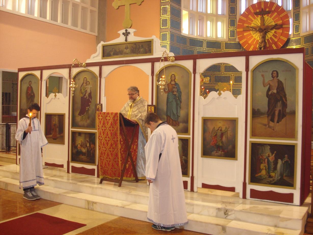 Литургија у Недељу православља на парохији миланској