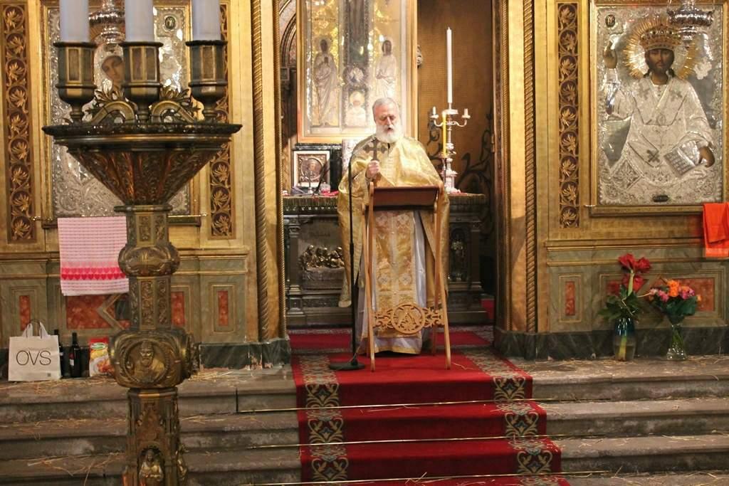 Прослава Божића у парохији Светог Спиридона чудотворца у Трсту