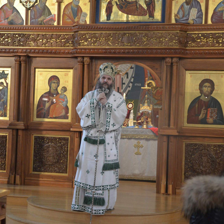 Архипастирска посета Епископа Андреја Цириху