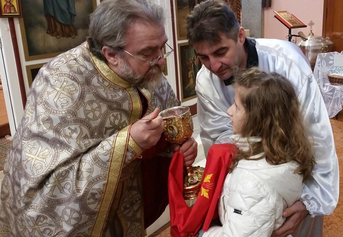 Богојављење и Свети Сава у Милану