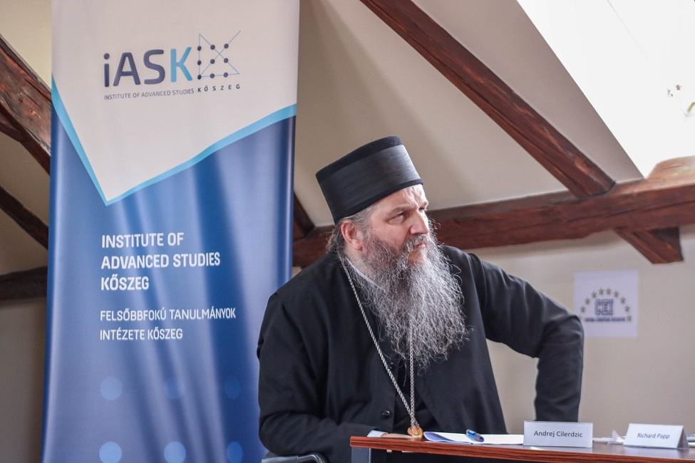 Предавања Епископа Андреја на Институту за Напредне студије