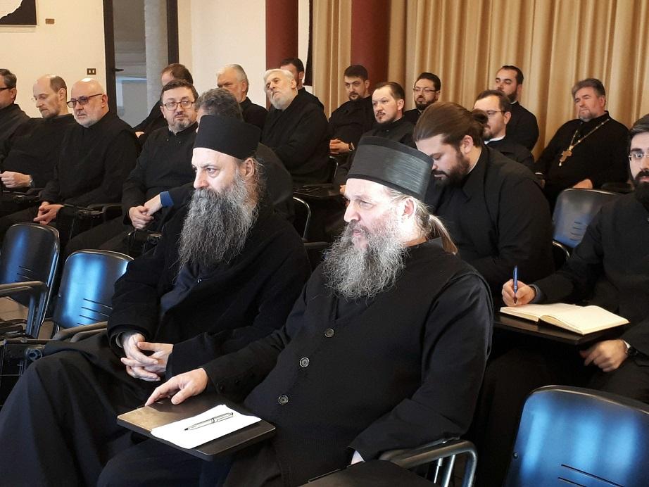 Сабрање свештенства Епархије аустријско-швајцарске у Италији