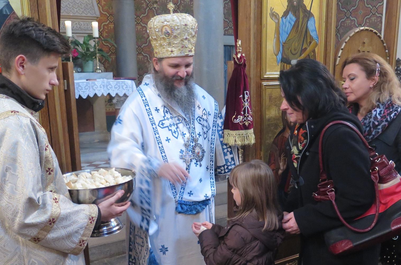 Епископ Андреј у Грацу