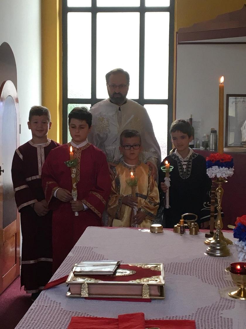 Молебан за почетак нове школске године y Винер Нојштату