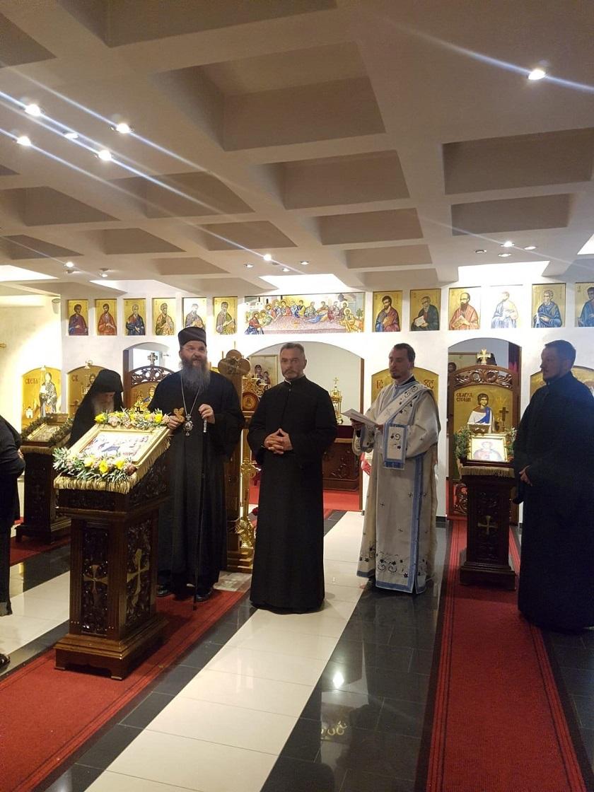 Епископ Андреј у Брегенцу