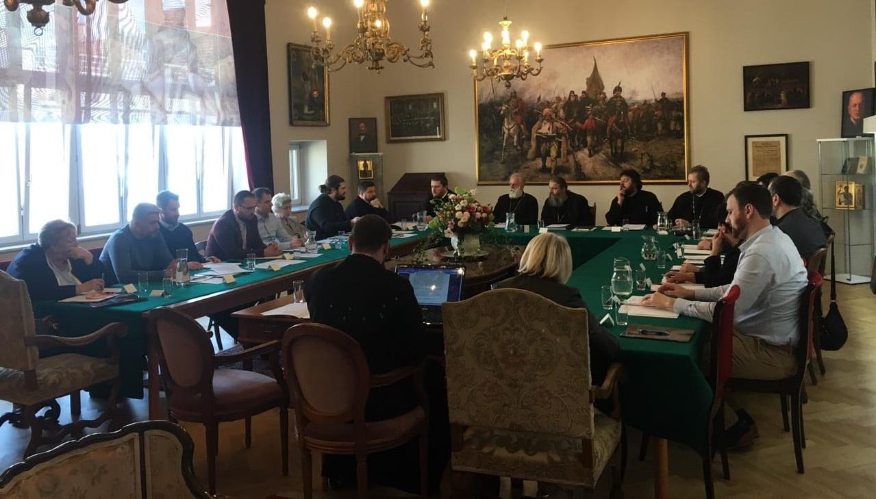 Седница Епархијског савета и Епархијског управног одбора у Бечу
