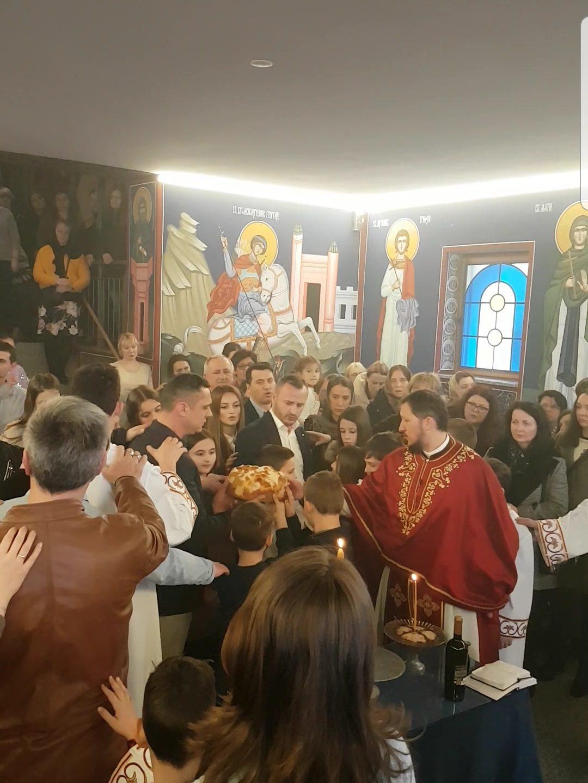Прослава Св. Саве у Санкт Галену и Мелсу