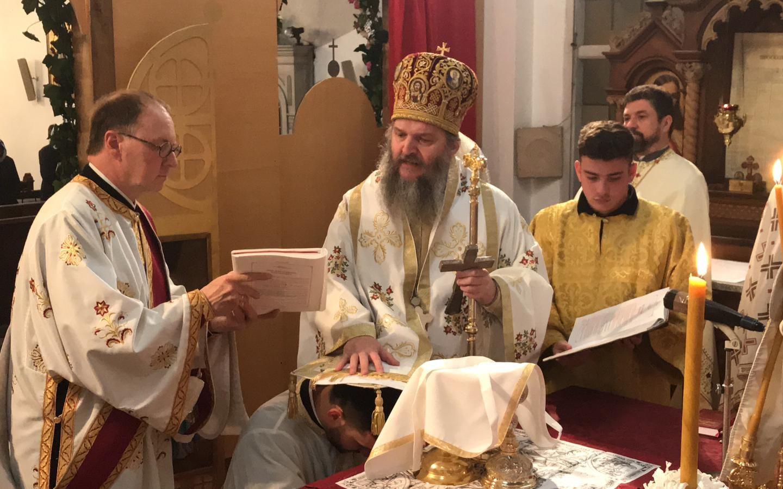 Храмовна слава и рукоположење у Браунауу