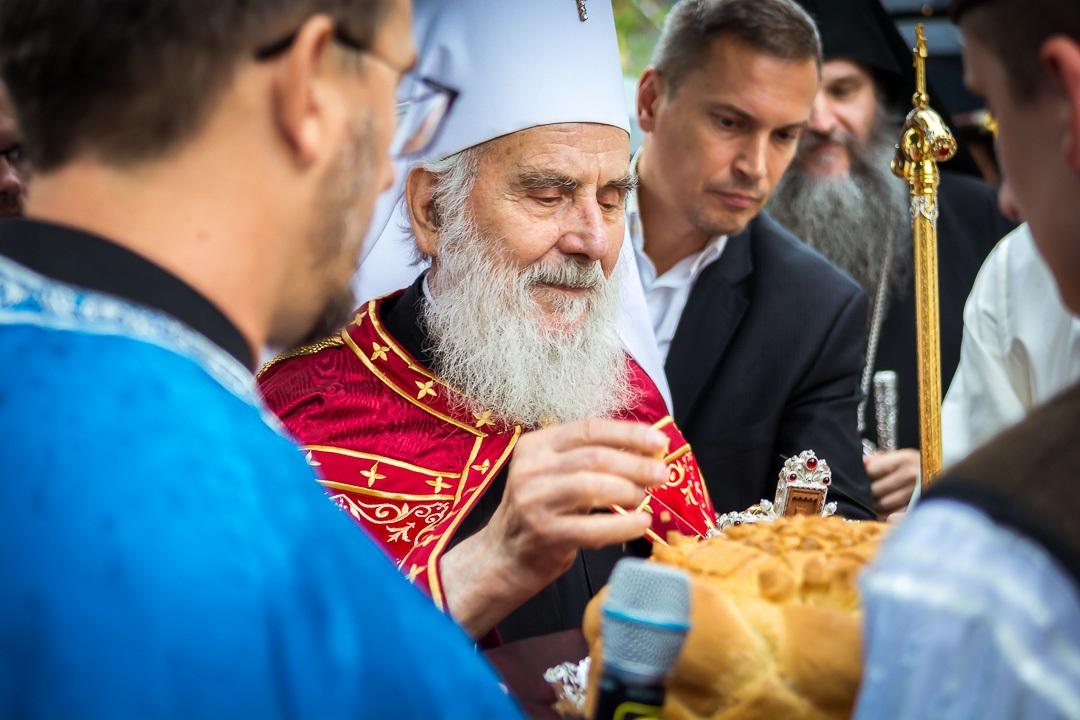 Патријарх српски Иринеј у Луцерну