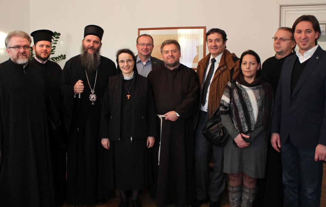 Епископ Андреј у граду Браунау