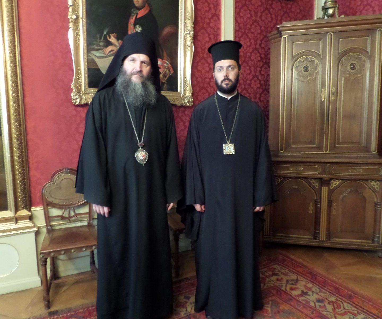 Владика Андреј посетио Митрополита Арсенија, председника Православне епископске конференције
