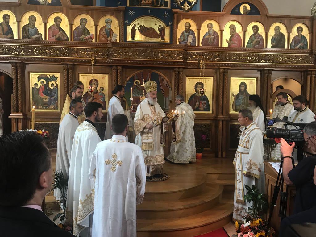 Патријарх српски Иринеј служио Литургију у Цириху