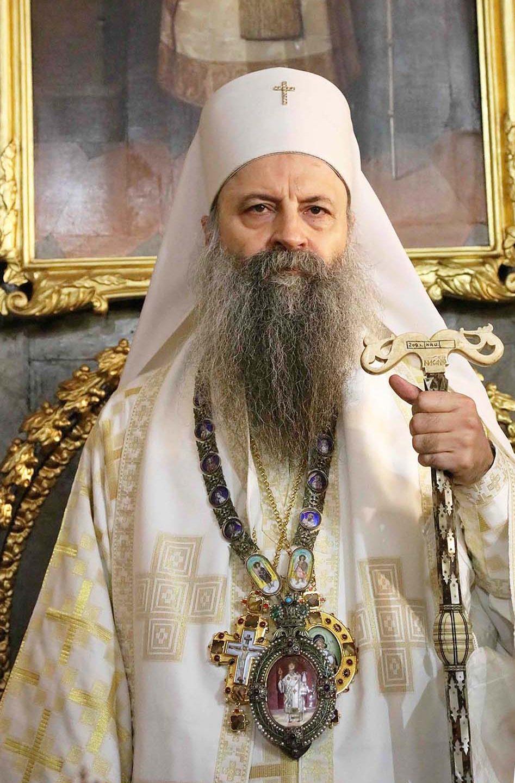 Metropolit von Zagreb und Ljubljana als 46. serbisch-orthodoxer Patriarch