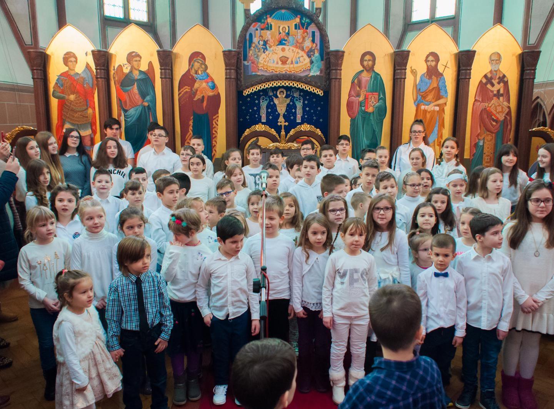 Прослава Светог Саве при парохији Свих Светих у Базелу